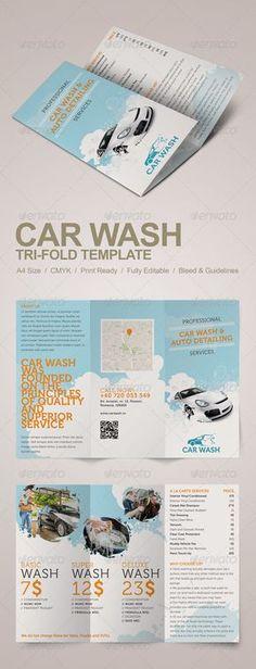 Car wash Service Menu, Product Menu, Corporate Service Menus