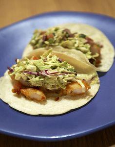 Tacos Baja @ Mercadito...looks good :)