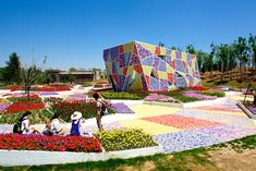 Multicolor Wonderland in Jinzhou Ceramic Museum and Mosaic Park Casanova + Hernandez Architects Create Multicolor Wonderland in Jinzhou Ceramic Museum and Mosaic Park | Inhabitat - Sustainable Design Innovation, Eco Architecture, Green Building