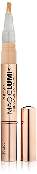L'Oreal Paris Magic Lumi Highlighter Concealer, Deep, Ounces it highlights your complexion and boosts radiance for a subtle glow. Paris Magic, L'oréal Paris, Best Concealer, Luminous Makeup, True Match Lumi, Too Faced Bronzer, Deep, Natural Glow