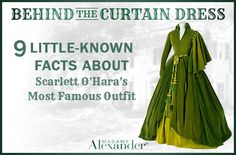 9 Little-known facts about Scarlett O'Hara's most famous outfit. Madame Alexander Dolls.