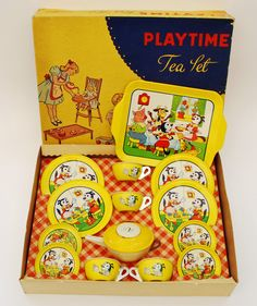 Playtime Tea Set