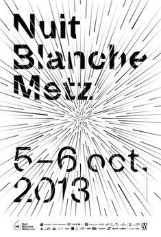 france, 2013 / client: nuit blanche metz