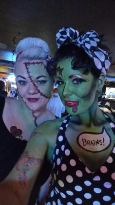 Halloween makeup comic book zombie. Kryolan Aquacolor Interferenz ...