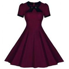 Fashion Plus Size Womens Classy Vintage Audrey Hepburn Style 1950s ...