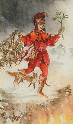 The Fool (Loki) - Vikings Tarot