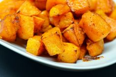 Roasted Butternut Squash in Lard | Award-Winning Paleo Recipes | Nom Nom Paleo    Just made this for dinner tonight. Seriously awesome! I used coconut oil. I could eat it all in one sitting. YUMMO! - Leslie