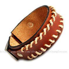 Jewelry bangle leather bracelet buckle by braceletbanglecase, $9.00