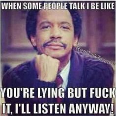 "your lies have no power over us anymore :) try again sweetie, and i'll put my ""george jefferson"" face on ^^^^"