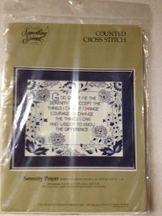 Something SpecialCounted Cross Stitch Kit  by KoopsKountryKalico, $15.99