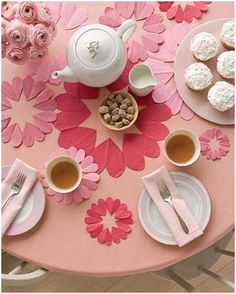 Steeped Tea Children's Kids Tea Party Pink Themed