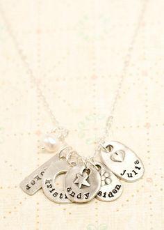 jumble of charms necklace | Lisa Leonard Designs - WANT!   Leslie Shaune Keaton Chloe Meg