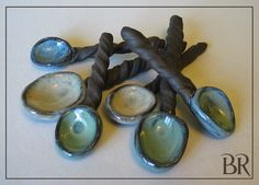 Hand made Stoneware Sugar spoon - Salt Spoon - Utensil - Tea Spoon - Pottery. , via Etsy.