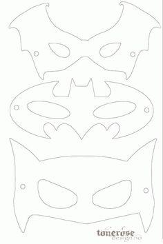 Printable Masks, Templates Printable Free, Free Printables, Batman Birthday, Superhero Birthday Party, Superhero Halloween, Halloween 2020, Birthday Parties, Superhero Mask Template
