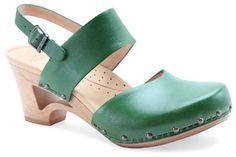 Maybe some cute green clogs for Spring? (Dansko Thea clog)