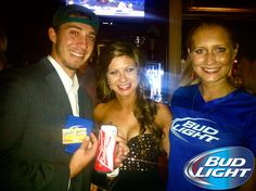#BudLight Night at General Beauregard's!! #Beer #Budweiser #Georgia #Athens #Smile