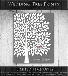 Hey, I found this really awesome Etsy listing at https://www.etsy.com/listing/190278194/guest-book-tree-wedding-guest-book