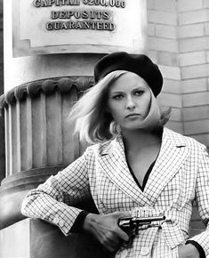 Bonnie And Clyde 1967, Faye Dunaway, Classic Actresses, Retro, Movies, Inspiration, Beauty, Fashion, Biblical Inspiration