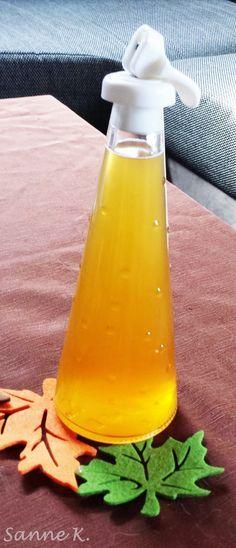Glühendes Herbstgold (Glühweinlikör)