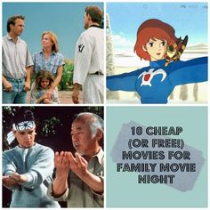 10 picks for cheap (or free!) family movie night