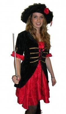A Stylish Lady Pirate - Lady Pirate, Pirate Woman, Pirate Fancy Dress, Pirates, Bohemian, Stylish, Dresses, Fashion, Gowns