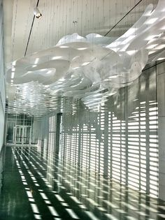 SCAD MOA, Kendall Buster Commercial Architecture, Exhibition Space, Lamp Design, Light Decorations, Art Studios, Installation Art, Art Museum, Pendant Lighting, Design Inspiration