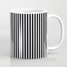 Available in 11 and 15 ounce sizes, our premium ceramic coffee mugs feature wrap-around art and large handles for easy gripping. Dishwasher and microwave safe, these cool coffee mugs will be your new favorite way to consume hot or cold beverages. Unique Coffee Mugs, Tea Mugs, Cabana, Dishwasher, Coffee Cups, Microwave, Stripes, Ceramics, Black And White