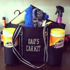The Organizing Utility Tote utilized as a great Father's Day gift! www.mythirtyone.com/brownhasit