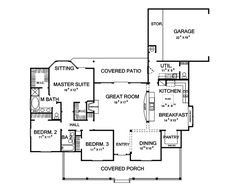 Portico Country Home Plan 111D-0004 | House Plans and More