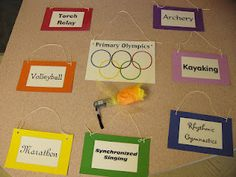 Singing in Primary: Primary Olympics