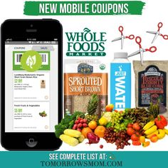 Open up those whole foods apps and checkout the savings! See complete list just click the  link in my bio @tomorrowsmom -read  See blog post for full details.   Orfollow the link in my Bio a@Tomorrowsmom at TomorrowsMom.com #tomorrowsmom .  #frugal #savings #deals #cosmicmothers #feminineenergy #loa #organic #fitmom #health101 #change #nongmo #organiclife #crunchymama #organicmom #gmofree #organiclifestyle #familysavings #frugal #healthyhabits #lifechanging #fitpeople #couponcommunity…