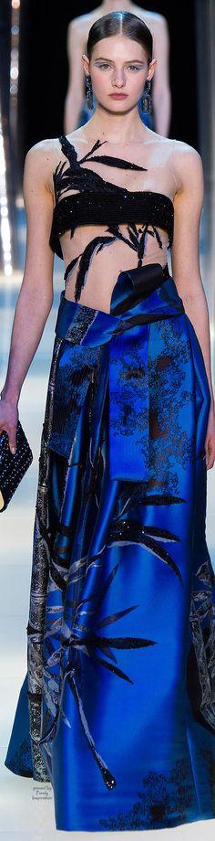 e1ab6159ef Armani Privé Spring 2015 Haute Couture