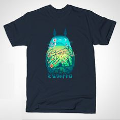 Totoro T-shirt from Smoko Inc.