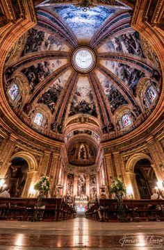 Basílica de San Francisco el Grande, Madrid, Spain.