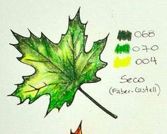 Floresta encantada/ jardim secreto Degradê verde Colored Pencil Tutorial, Colored Pencil Techniques, Coloring Tips, Adult Coloring, Copics, Prismacolor, Forest Color, Faber Castell, Coloring Tutorial