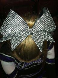 Pretty cheer bow.