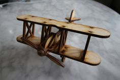 Wooden aeroplane by WoodieDesign on Etsy Drafting Desk, Custom Design, Corner, Woodworking, Etsy Shop, Unique Jewelry, Furniture, Vintage, Home Decor