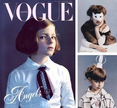 Vogue Bambini Nippon #Vogue #Angels
