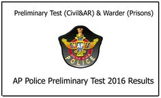 AP Police Constable Preliminary Test Results Been Announced