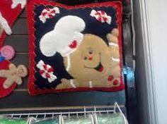 Resultado de imagen para moldes para cojines navideños 2006