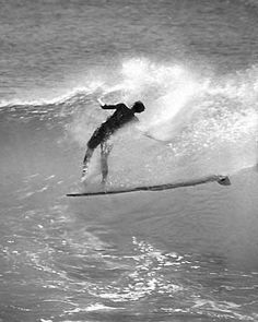Noseride 60's in hawaii