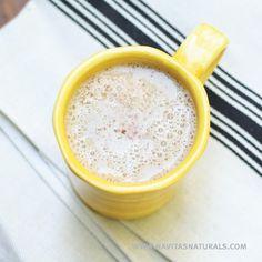 Lucuma Latte - Julie Morris  Ingredients 1½ Cups Almond Milk 1½ Cups Soy Milk 3 Tbsp Navitas Naturals Lucuma Powder 1 Tbsp Navitas Naturals Coconut Water Powder Nutmeg Powder Favorite Sweetener, to taste (optional)