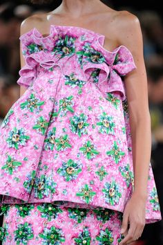 London: Mary Katrantzou Spring 2014
