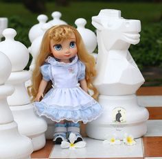"Alice Style .Doll clothes for Disney animator dolls 16""."