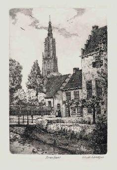 Amersfoort Muurhuizen, lijnets. Anna Doedijns