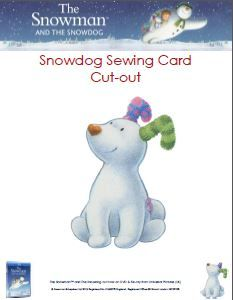 John Lewis Snowman Knitting Pattern : 1000+ images about SnowDog   on Pinterest Snowman, Figurine and Sewing cards