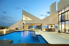 Radical Terrace — Traingulated Ermin Smrekar-Designed Postmodern Home on Bass Coast Lists for $5.5m+