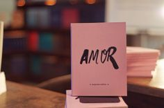 Livro Amor - foto de Pedro Pinho