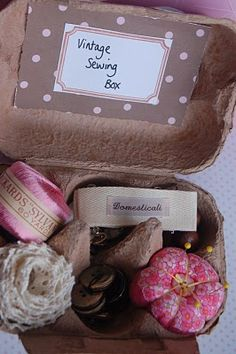 this makes me want to start an egg carton sewing kit swap!!!!