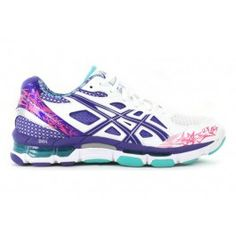 ASICS Gel-Netburner Professional 10 White/Magenta | Asics Shoes | The Athletes Foot